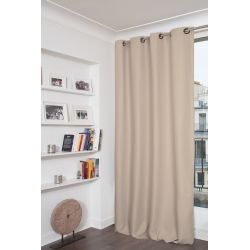Värmeisolerande gardin Everest Beige MC15